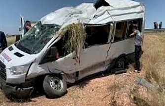 Viranşehir'de kaza! 1 ölü, 3 yaralı