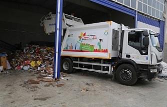 Haliliye'de atıklar çöpe değil geri dönüşüme gidiyor
