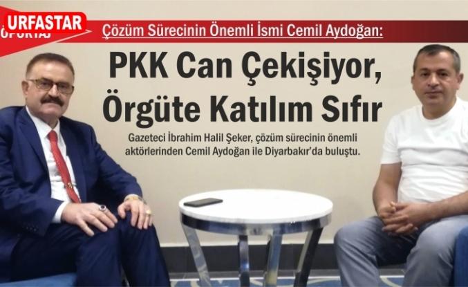 Cemil Aydoğan: PKK Can Çekişiyor, Örgüte Katılım Sıfır