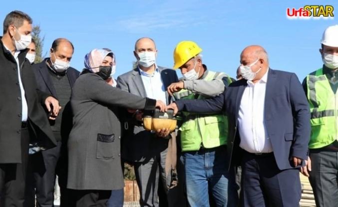Bozova'da bir projenin daha temeli atıldı