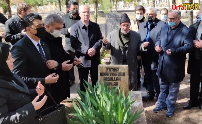 Balak mezarı başında anıldı