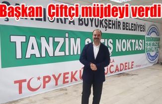 Başkan Nihat Çiftçi: Şanlıurfa'da tanzim satış noktası kurulacak