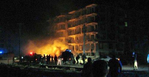Viranşehir'de bombalı saldırı