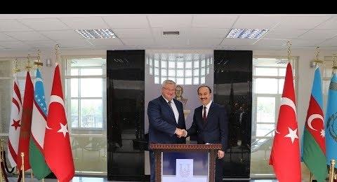 Ukrayna büyükelçisi ziyareti