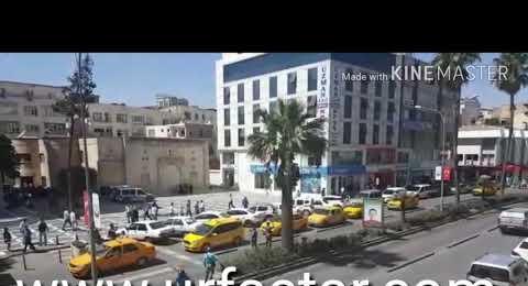 Urfa'da taksiciler eylem yaptı