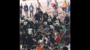 GAP Arena'da maç sonrası gerginlik