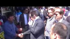 Şanlıurfa Valisi İzzettin Küçük, Haşimiye esnafını ziyaret etti