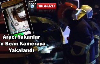 Eyyübiye'de araç kundaklandı